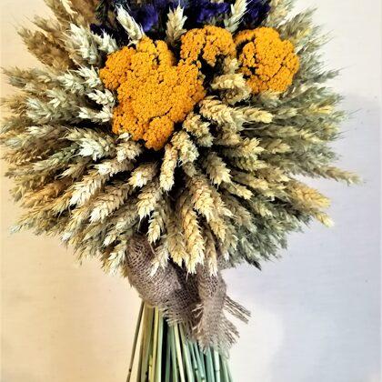 Rudens ražas dekors - 20 eur.augstums 60 cm
